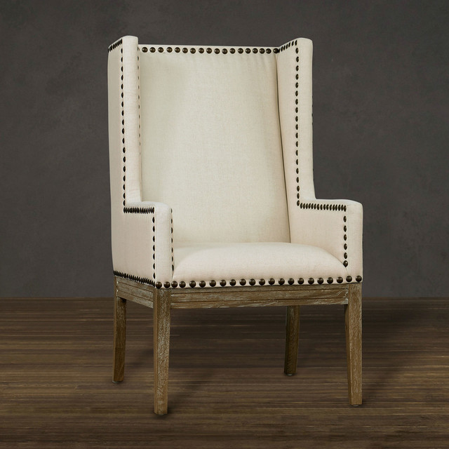 Tribeca Beige Linen Chair contemporary-armchairs-and-accent-chairs