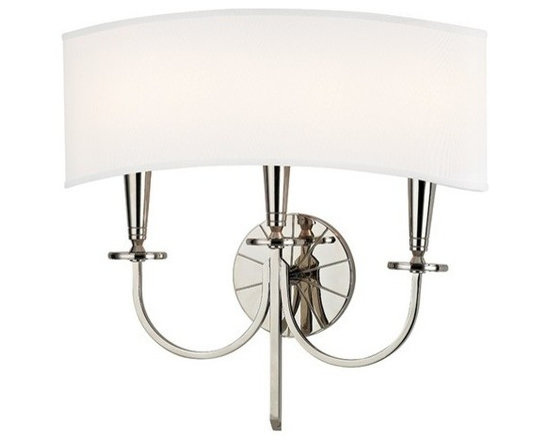 Hudson Valley Lighting - Hudson Valley Lighting | Mason Three Light Wall Sconce - Though the Mason Three Light Wall Sconce's inspiration is rooted in history, this collection forges new territory at the crossroads of tradition and modernity. While the wheel spoke motif evokes America's frontier past, the geometric purity of the chandelier's plumb bob column and conical socket holders suggests kinship with mid-century modern design. Double Clip Shade Attachment.