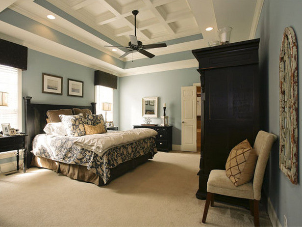 Bedroom traditional