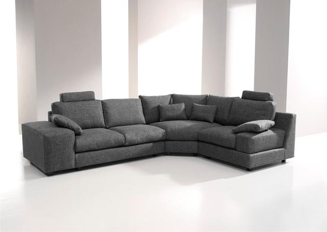 Calisto Contemporary Fabric Modular Sofa by Famaliving ...