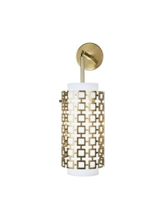 Furniture and Materials - This geometric light is a must have for any modern interior. It is fun, eclectic and sophisticated!