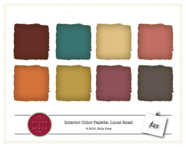 Color Palettes eclectic-paint