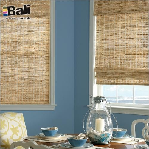 Bali Deluxe Woven Wood Shades From Blindscom In Grasses