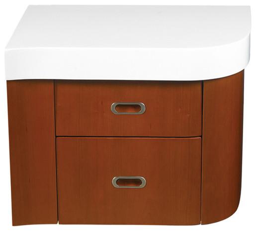 Decolav Casaya Left Drawer Cabinet contemporary-bathroom-vanities-and-sink-consoles