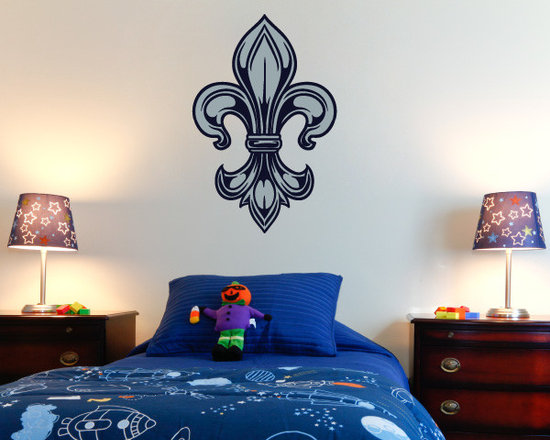 Fleur De Lis Vinyl Wall Decal FleurDeLisUScolor006; 72 in. - Vinyl Wall Decals are an awesome way to bring a room to life!