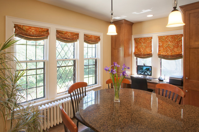 Historic Home Window Treatments Traditional Roman