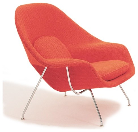 Saarinen Large Womb Chair | YLiving midcentury-accent-chairs