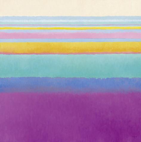"""Flowerfields Xv"" by Nel Pot contemporary-artwork"