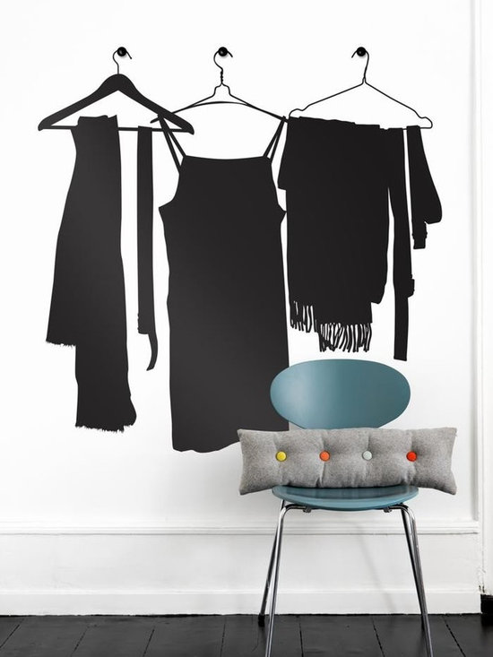 Ferm Living Wardrobe WallSticker - With Ferm Living WallStickers it is easy to create a new look and change the style in a room in a matter of minutes. By using WallStickers, your kids can also help decorate their own room in an array of colors.