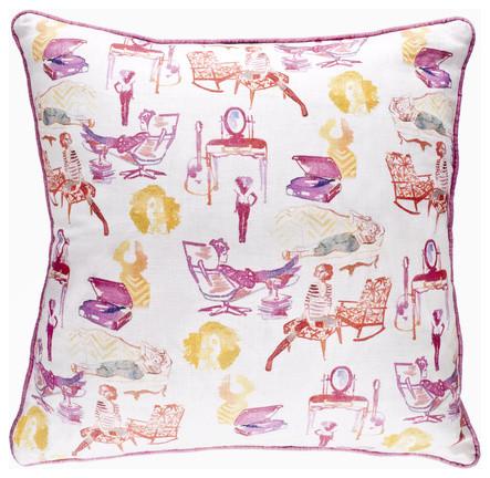 AphroChic - Brooklyn Life Indoor contemporary-decorative-pillows