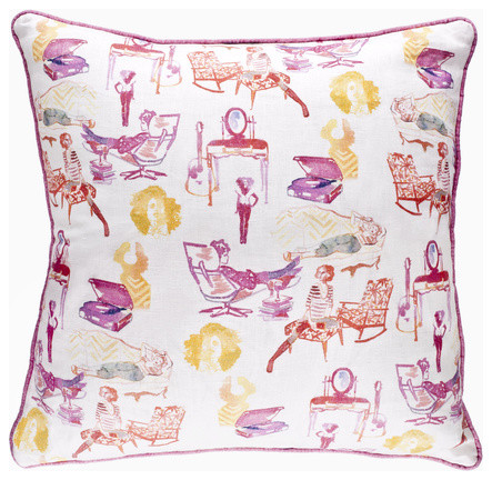 AphroChic - Brooklyn Life Indoor contemporary pillows