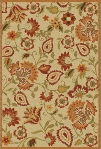 Blossom Beige/Multi Rug modern-rugs