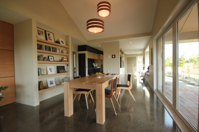 Urban Homes Showhome - Dining contemporary-dining-room