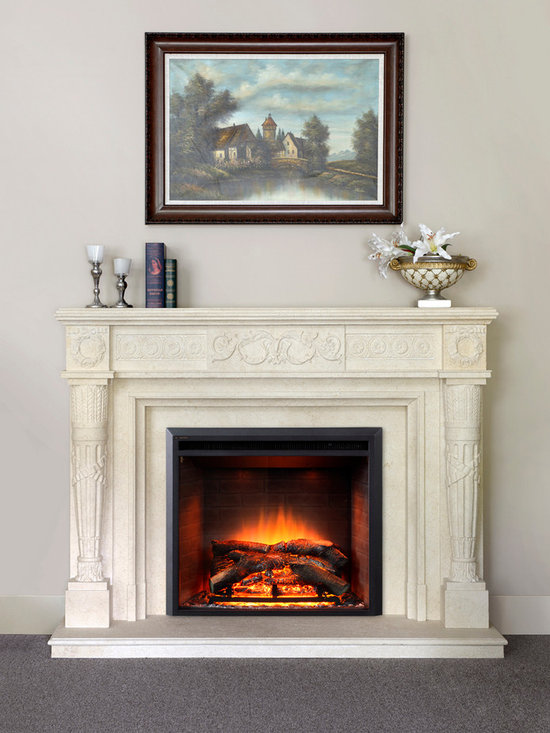 Dynasty EF43D-FGF Fireplace Insert - Jeanne Grier/Stylish Fireplaces & Interiors