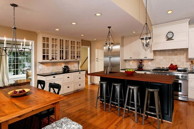 Open Concept Kitchen, Dining Room Addition Becomes Hearth of the Home ...
