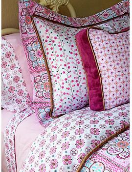 Caden Lane Modern Pink Bedding Collection modern-kids-bedding