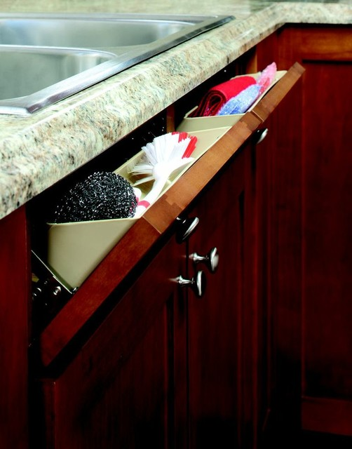 Tip Out Tray contemporary-kitchen-drawer-organizers