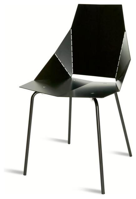 Blu Dot Real Good Chair, Black modern-chairs