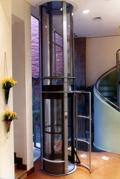 Pneumatic Elevator Tube Contemporary By Pangaea: two story elevator cost