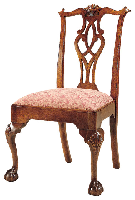 Stickley Chippendale Ball & Claw Side Chair 4787-S traditional-dining-chairs