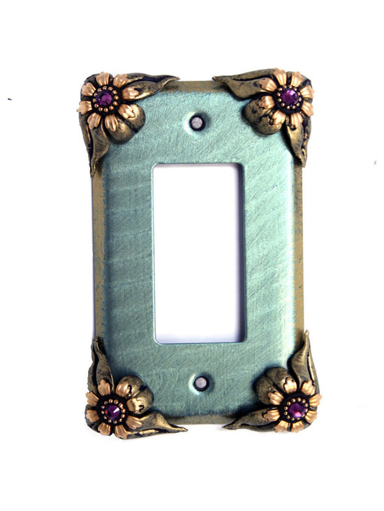 Bloomer Ivy Single Decora Switch Cover -