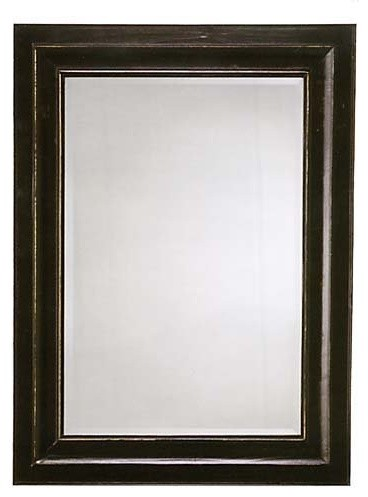 Bar Harbor Rectangle Mirror - 34W x 46H in. traditional-mirrors