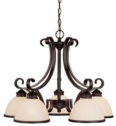 Willoughby Five-Light Chandelier modern-chandeliers