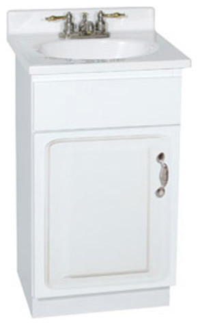 18 Inch Vanity With Sink : Concord 18 X 16 Inch Vanity modern-bathroom-vanities-and-sink-consoles