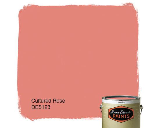 Dunn-Edwards Paints Cultured Rose DE5123 -