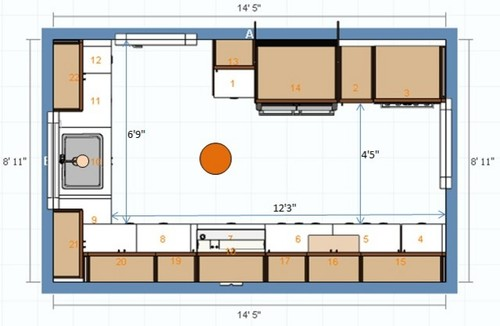 Kitchen Lighting Plan Need Help With Recessed Lighting Layout: kitchen recessed lighting design guidelines