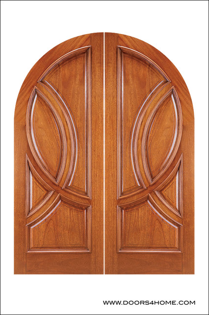 OLD WORLD ENTRY DOORS contemporary-front-doors