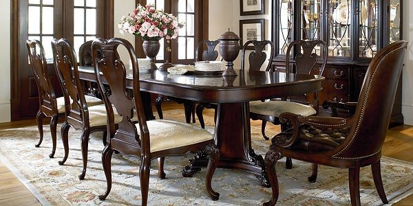 Thomasville traditional dining tables vancouver by home couture - Thomasville kitchen table ...