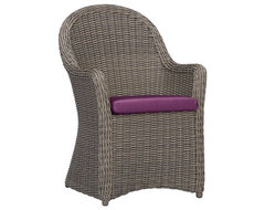 Summerlin Sunbrella Phlox Arm Chair with Cushion contemporary outdoor chairs