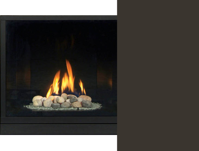 Majestic 500dvblpsc7 Solitaire Direct Vent Gas Fireplace Modern Indoor Fireplaces