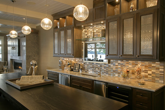 Lake Minnetonka Property contemporary-kitchen