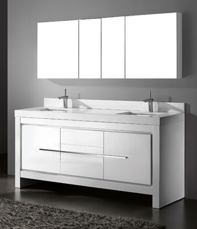 50 inch double sink bathroom vanity