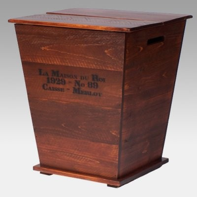 2 Day Designs Reclaimed Wine2Night Vineyard Cart End Table contemporary-side-tables-and-accent-tables