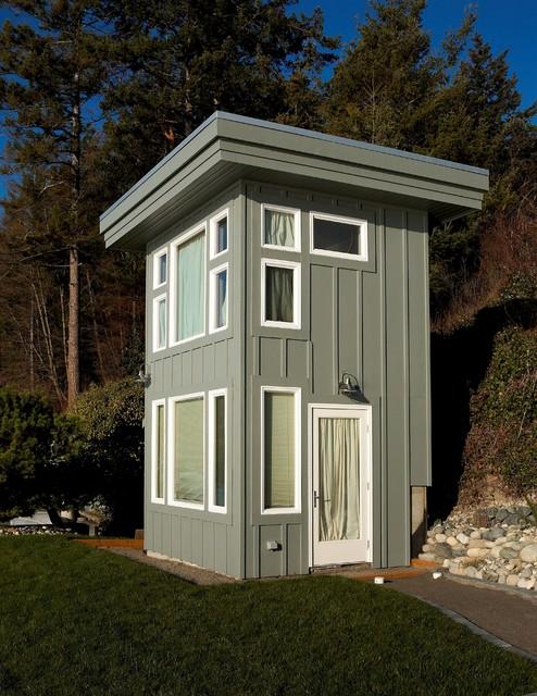 Sleeping cottage. contemporary-exterior
