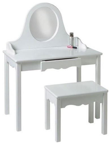 Pretty Me Bedroom Vanity Set traditional-kids-tables-and-chairs