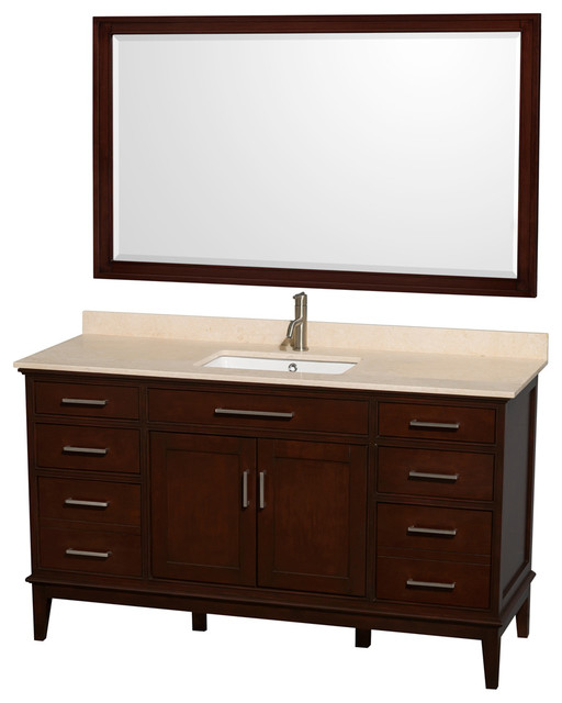 Eco Friendly Single Sink Vanity With Mirror Contemporary Bathroom Vanities And Sink Consoles