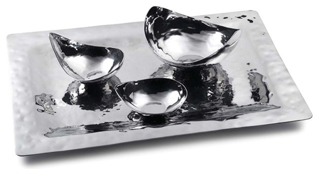 Sierra Rectangular Serve Tray traditional-serving-trays