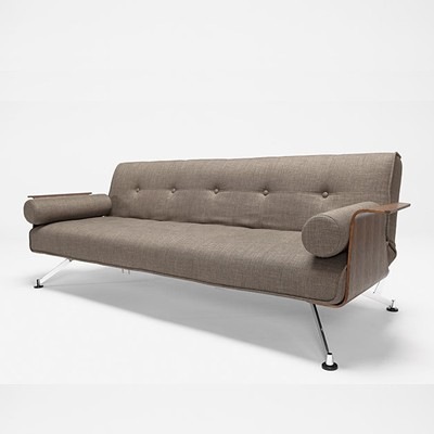 The clubber deluxe sleeper modern futons other metro for Clubber sofa bed