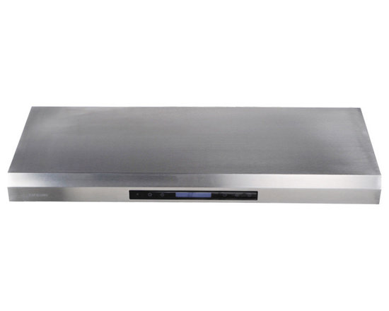 "Cavaliere - Cavaliere AP238-PS65 30"" Under Cabinet Range Hood - Cavaliere Stainless Steel 260W Under Cabinet Range Hood with 4 Speeds, Timer Function, LCD Keypad, Stainless Steel Baffle Filters, and Halogen Lights"