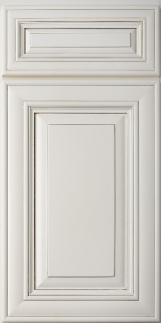 Bristol Oatmeal Cabinet Door Style - Traditional - Kitchen Cabinetry - nashville - by ProCraft ...