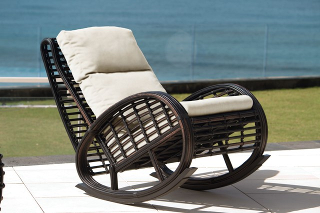 Taurus Outdoor Rocking Chair from Skyline Design Contemporary Outdoor Roc