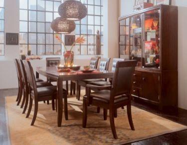 American Drew 912-760-SET Tribecca - Leg Dining Table Set Tribecca traditional-dining-tables
