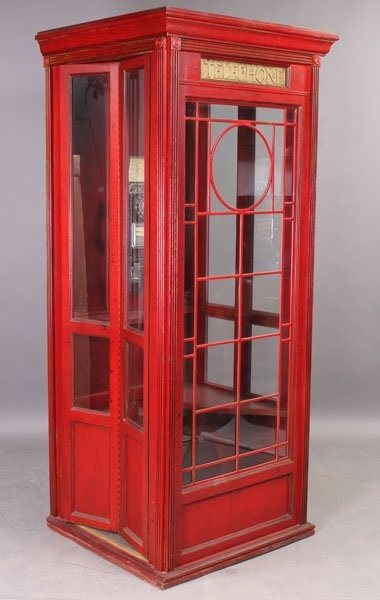 Vintage Phone booth 6 - Midcentury - Furniture - montreal - by AES Mobile Studios