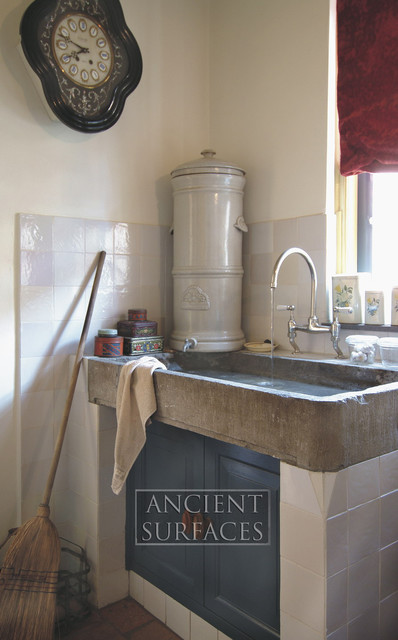 Antique Limestone And Marble Sinks Mediterranean