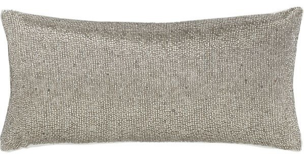 Panache Platinum Pillow contemporary pillows