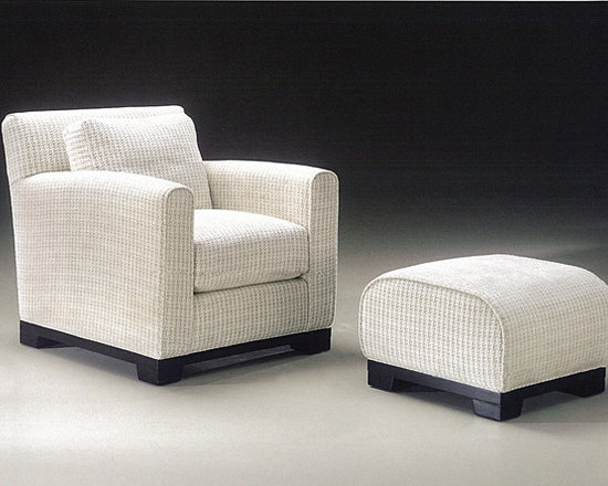 Thayer Coggin - Mansfield Lounge Chair and Ottoman from Thayer Coggin - Thayer Coggin Inc.